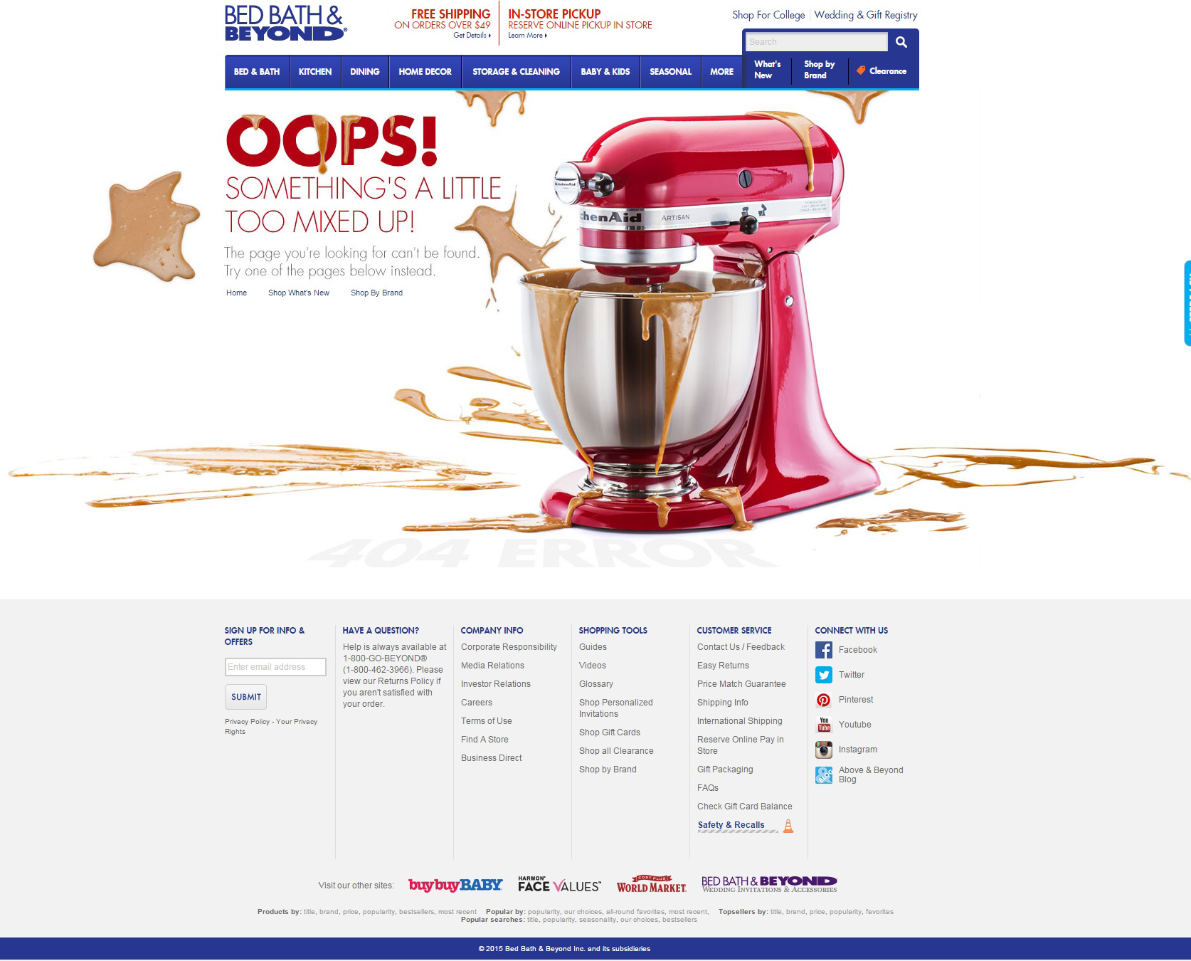 woocommerce conversion optimization 404 page