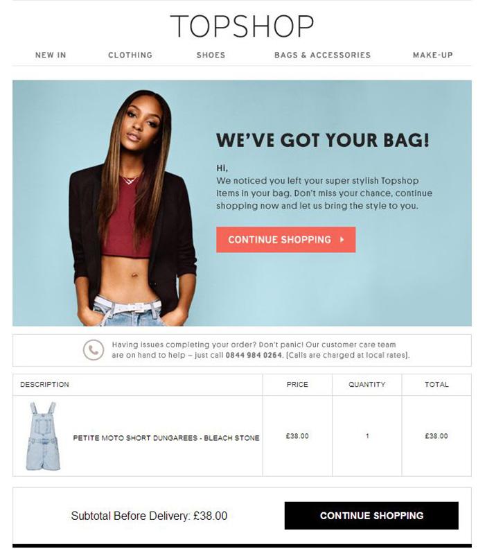 WooCommerce cart abandonment emails - cart total